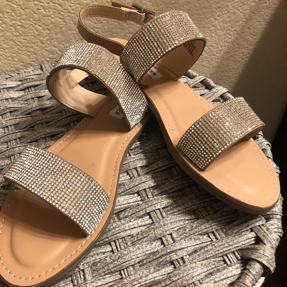 Steve Madden Sparkle Sandals